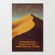 Athabasca Sand Dunes Poster Canvas Print