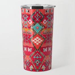 Epic Red Oriental Anthropologie Berber Atlas Moroccan Style Travel Mug