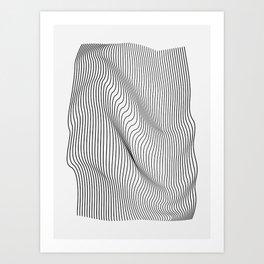 Minimal Curves Kunstdrucke