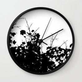 Branches 3 Wall Clock