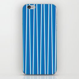 Between the Trees Blue, Cerulean & Navy #401 iPhone Skin