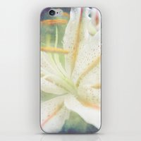 lily iPhone & iPod Skins featuring Lily by Deepti Munshaw