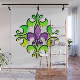 Five Nola Flowers Wall Mural