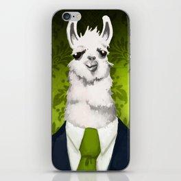 Formal Llama - Green iPhone Skin
