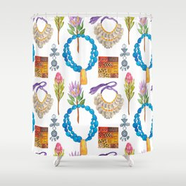Wild Africa #5 Shower Curtain
