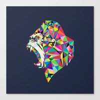 gorilla Canvas Prints featuring Gorilla by Narek Gyulumyan