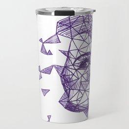 Queenie Goldstein Fracture Drawing Travel Mug