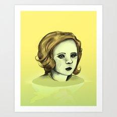 Monotone V Art Print