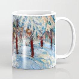 Snow in October by Dennis Weber / ShreddyStudio Coffee Mug