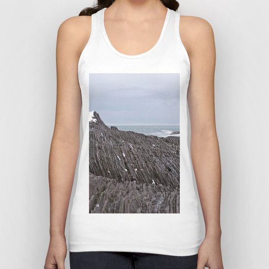 The Ends of the Earth are Frozen in Time Unisex Tank Top