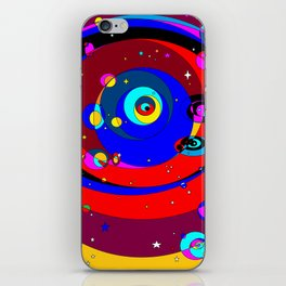 A Space Journey within the Stars and Mars iPhone Skin