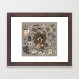 Share Framed Art Print