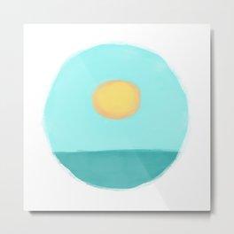 Sunscape Metal Print
