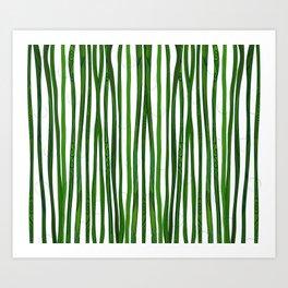 Bamboo Design Art Print