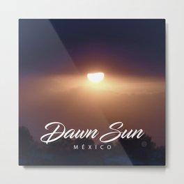 Dawn Sun Metal Print