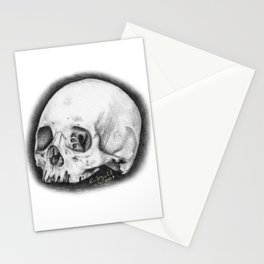 Tiny Skull Stationery Cards
