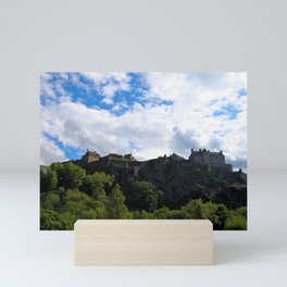 Edinburgh Castle Mini Art Print