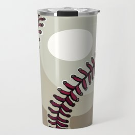 Cartoon Baseball Clipart Travel Mug