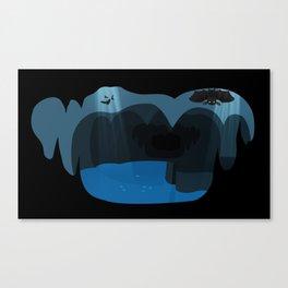 Bat cave Canvas Print