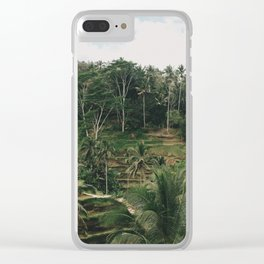 Bali Tegalalang Clear iPhone Case