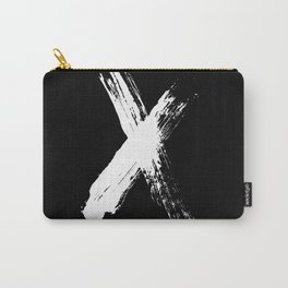 X marks the spot (white) Carry-All Pouch