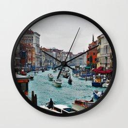 Grand Canal Venice 3 Wall Clock