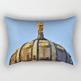 French Cathedral of Berlin Rectangular Pillow