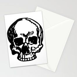 Black and White Pirate Skull, Vibrant Skull, Super Smooth Super Sharp 9000px x 11250px PNG Stationery Cards
