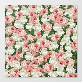 Juliet -  Romantic Roses Canvas Print
