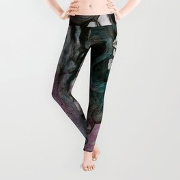 Beneath Broken Earth Leggings