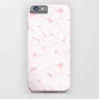 Leaves in Rose Slim Case iPhone 6s