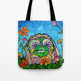 Lily Rose, the Pekingese Tote Bag