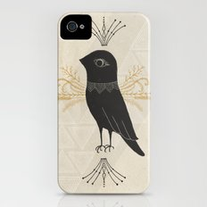 Black Bird iPhone (4, 4s) Slim Case