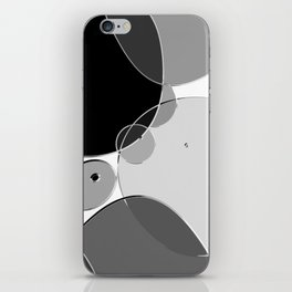 Circle Series - Chrome iPhone Skin