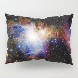 Orion NebulA Colorful Full Image Pillow Sham