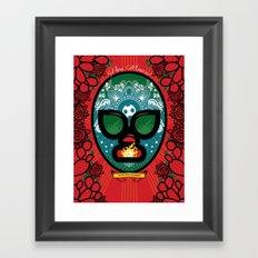 16 de septiembre Framed Art Print