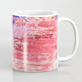 Into the Mist Pantone Color of the Year 2016 Abstract Coffee Mug