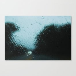 Moody Rainy Day Canvas Print