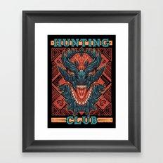 Hunting Club: Glavenus Framed Art Print