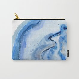 Agate slice Carry-All Pouch
