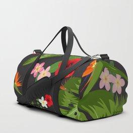Tropical Flower Background 6 Duffle Bag