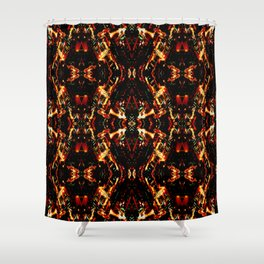 Los Angels City Kaleidoscope Shower Curtain