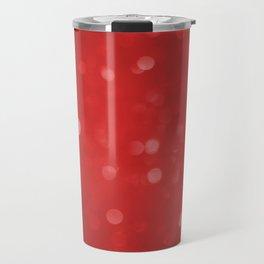 Starry red tint Travel Mug