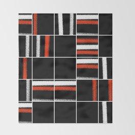 Zen tartan Throw Blanket