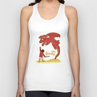 how to train your dragon Tank Tops featuring How to Train your Smaug! by Loku