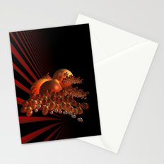 curtain outside in the galaxy -2- Stationery Cards