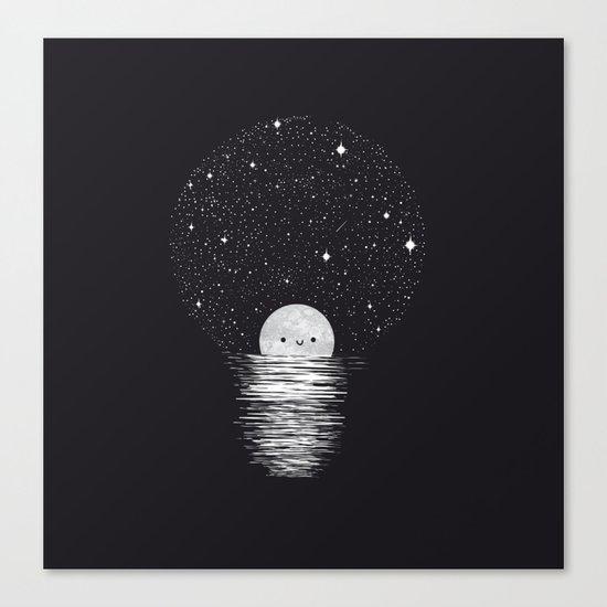 Natural light Canvas Print