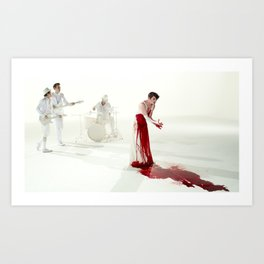 The Killing Type #5 (amanda palmer & the grand theft orchestra) Art Print