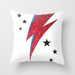 Bowie - Stardust Throw Pillow