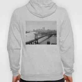 Photograph of NYC and The Williamsburg Bridge Hoody